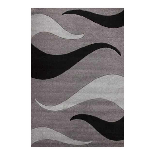 Allotapis Tapis moderne Helvet vague