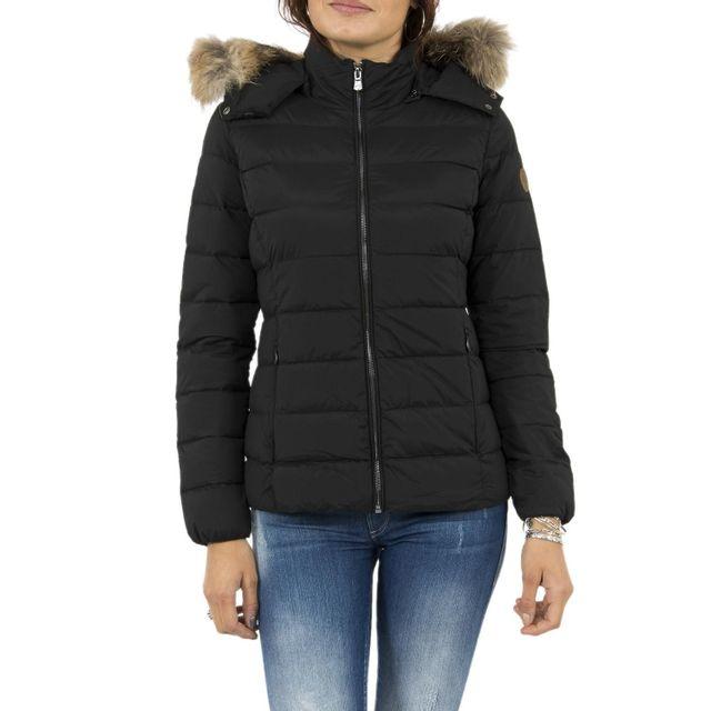 Jott - Doudounes carol grand froid noir - pas cher Achat   Vente Blouson  femme - RueDuCommerce 575525f3646
