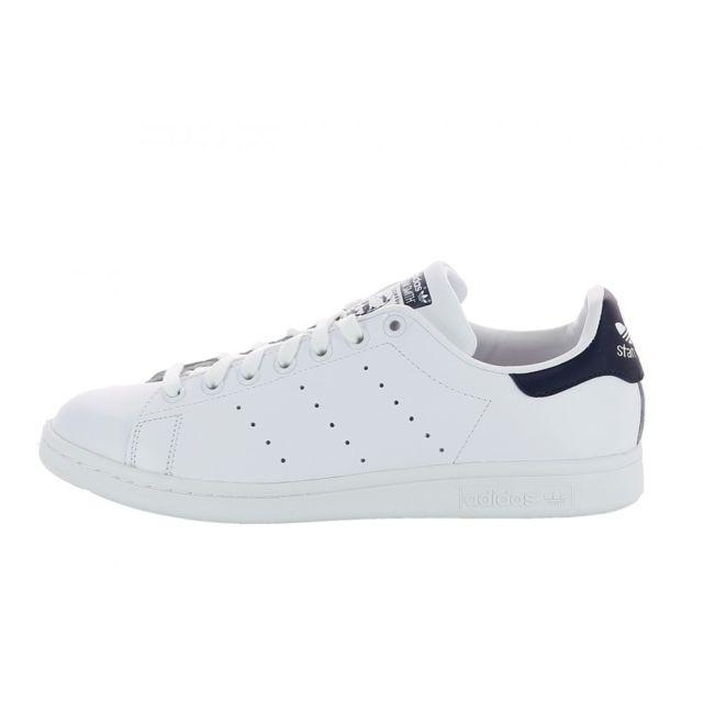 big sale 28024 64b45 Adidas originals - Basket Stan Smith - M20325 Blanc - pas cher Achat    Vente Baskets homme - RueDuCommerce