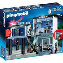 PLAYMOBIL - Commissariat de police avec système d'alarme - 5182