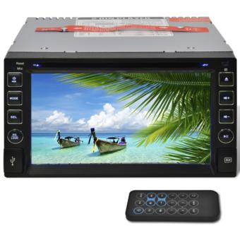 Vidaxl Auto radio écran Lcd Usb 2 Din lecteur Sd Bluetooth 6,2