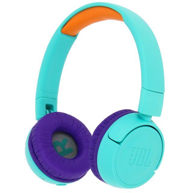 JR300BT Casque Bluetooth Spécial Kids Volume