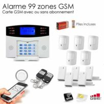 SecuriteGOODdeal - Alarme Gsm animal Xxl + caméra Ip