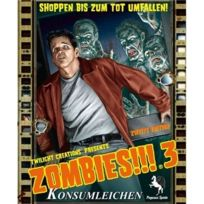 Pegasus Spiele - 54120G - Zombies!!! 3: Konsumleichen, 2ND Edition