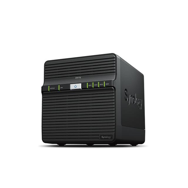 SYNOLOGY Serveur NAS DS418j 4 baies Serveur Nas 4 Baies hautes performances 1.4Ghz