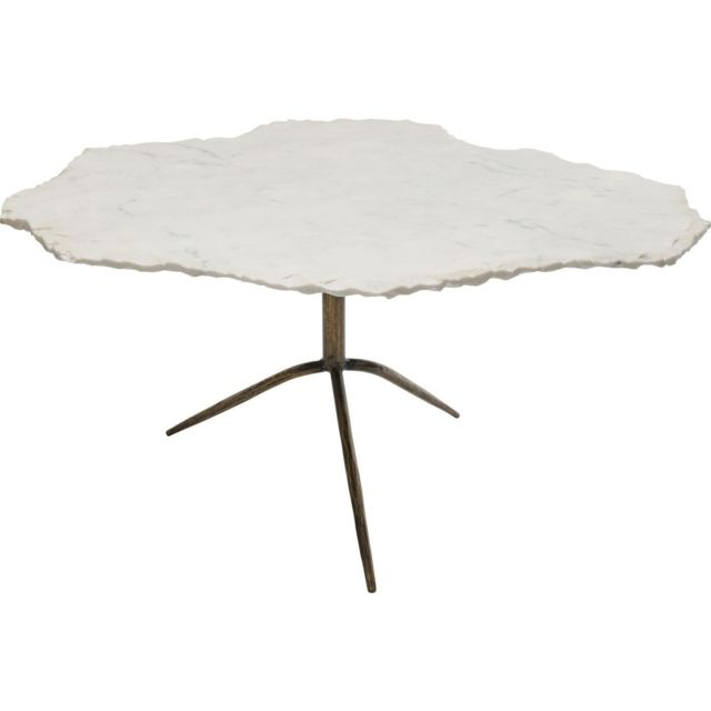 Karedesign Table basse Terrazzo Cloud marbre blanc Kare Design