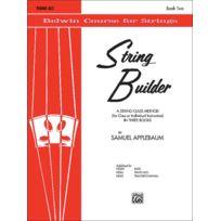Alfred Publishing - Méthodes Et Pédagogie Applebaum Samuel - String Builder 2 - Violin Violon