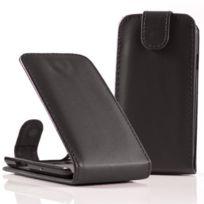 Vcomp - Housse Coque Etui rabattable en simili cuir pour Samsung Galaxy Nexus i9250/ i9250M/ Google Nexus 3 - Noir