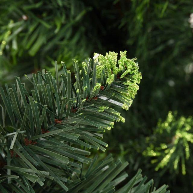 Icaverne - Décorations de Noël edition Sapin de Noël artificiel avec pommes de pin Vert 150 cm