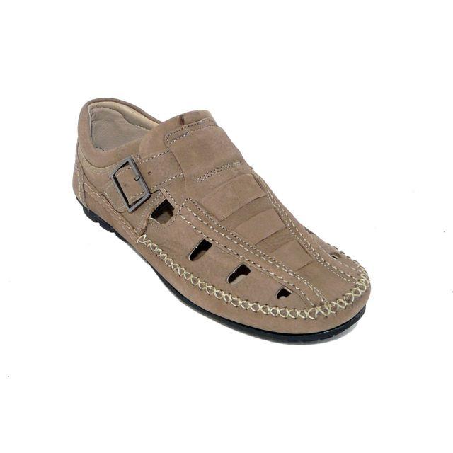 e103c8188ca218 Tbs - Chaussures homme été confort Cuir marron - pas cher Achat / Vente  Mocassins - RueDuCommerce