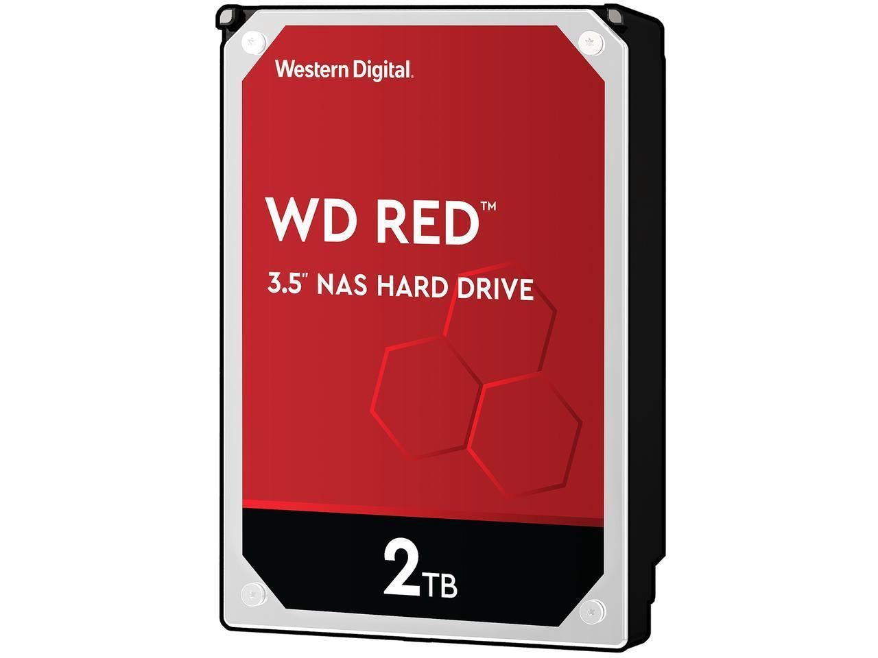 Disque dur interne WD Red SATA III 6 Go/s 2 To 3,5