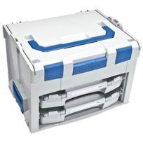 L-boxx - Sortimo International 6000000348 Sortimo 306 Coffre De Rangement Avec 2 Botes I-boxx Compartimentes