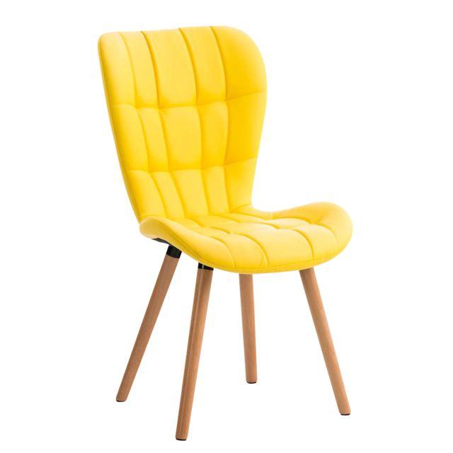 Moderne Chaise de salle à manger, de cuisine, de salon Oslo PU naturel
