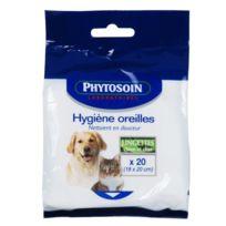 Phytosoin - lingettes oreilles chiens et chats