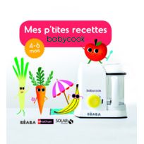 BEABA - Livre Mes P'tites recettes 4-6 mois - Version FR