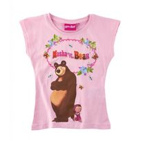 Masha Et Michka - T-shirt à manches courtes