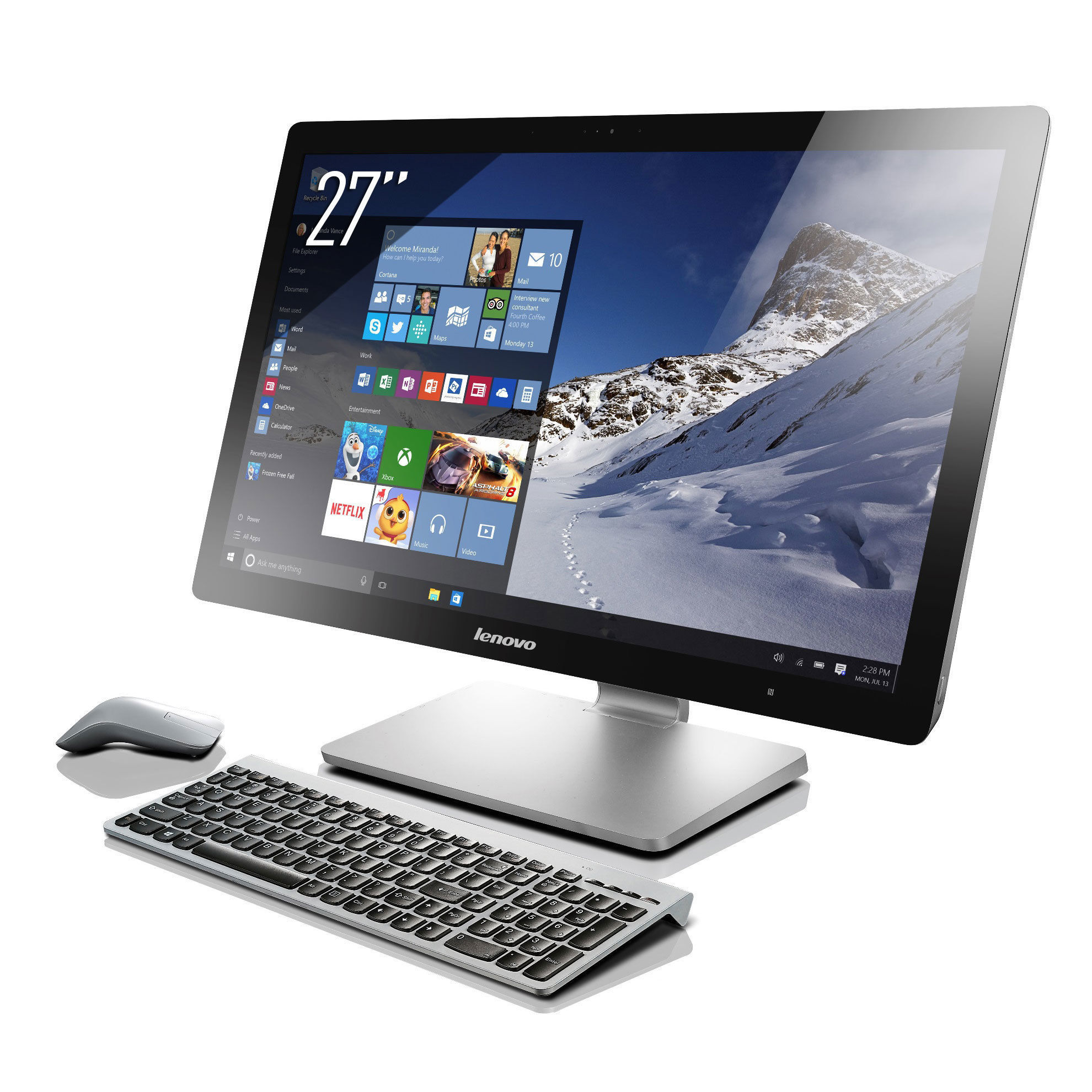 "Tout-en-un AIO NT QHD A740 - 27"" Full HD - 1 To"