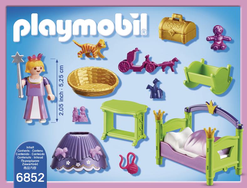 Playmobil chambre de princesse 6852 pas cher achat for Playmobil chambre princesse