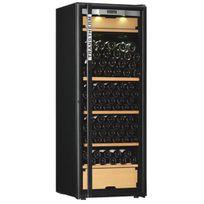Transtherm - Cave à vin multi-usages - 3 temp 209 bouteilles - Noir Aci-trt623NS - Pose libre