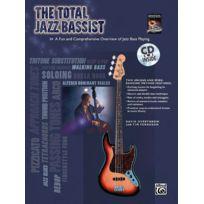 Alfred Music - Méthodes Et Pédagogie Alfred Publishing Overthrow David - Total Jazz Bassist + Cd - Bass Guitar Guitare Basse