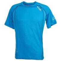 Regatta - Tee shirt technique Volito ii bleu mc tee Bleu 54328