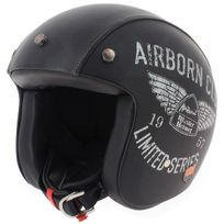 AIRBORN - Steve AB+ 42 Black Leather