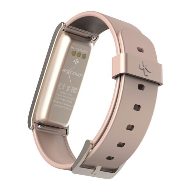 MYKRONOZ - Bracelet connecté Zefit 4 - Rose