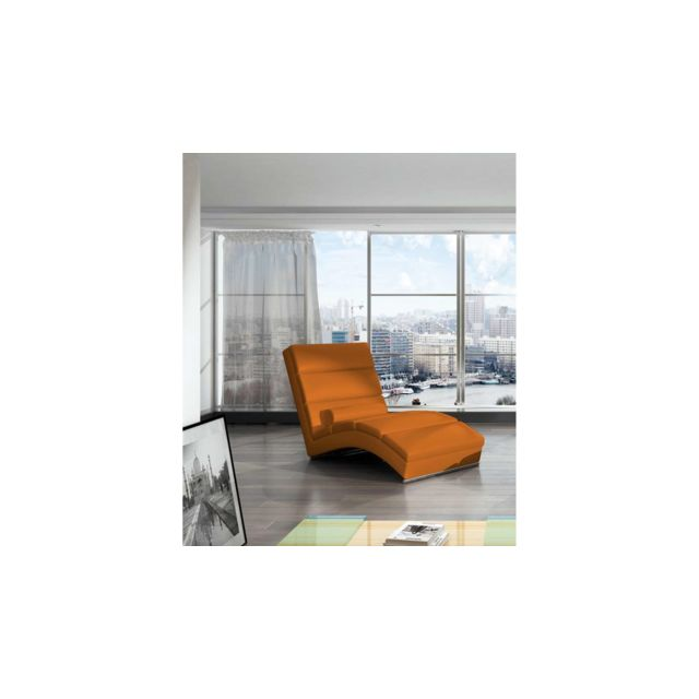 Orange Fauteuil 75x175x85 Relax Relax Fauteuil Orange Chicago Chicago 75x175x85 Chicago Kcl3uTF51J
