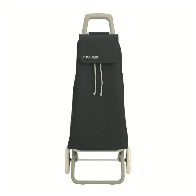 ROLSER - poussette de marché 2 roues 59l noir - saq002negro