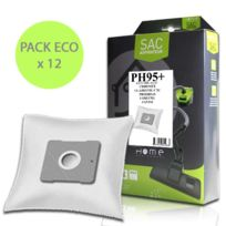 Infinity - Sac synthétique Pack ÉCO pour Aspirateur, x12 pour M7117BG1SILENCE de marque