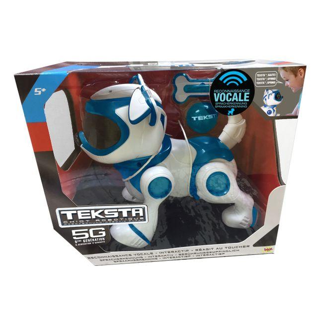 SPLASH TOYS - Robot chien Teksta Puppy 5G à reconnaissance vocale - 30642