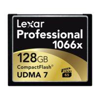 Lexar - Carte Cf 128 Go 1066X Professional Udma
