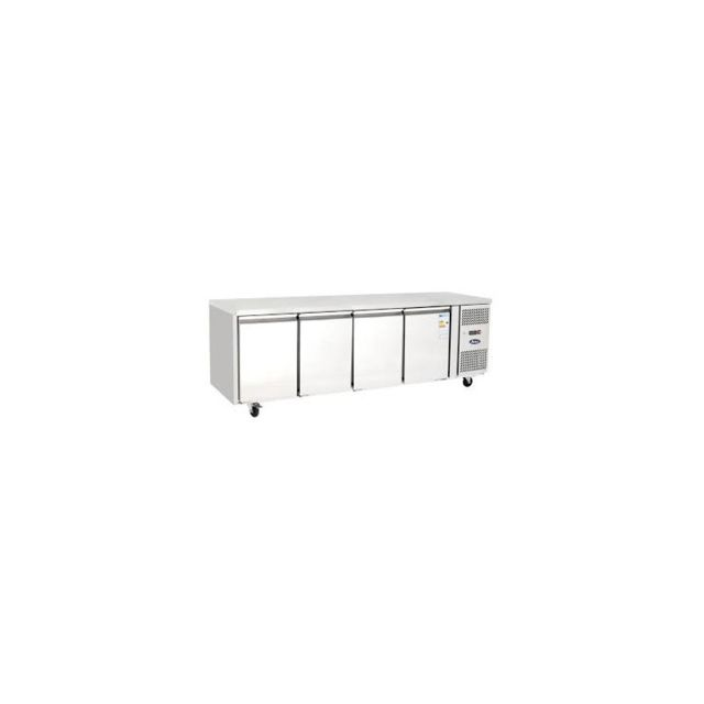 Atosa Table Réfrigérée Tropicalisé - 4 Portes - 2230 mm 600