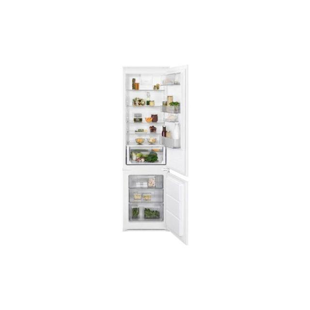 ELECTROLUX ENN3012AOW - Refrigerateur combine encastrable - 285L 231L + 72L - A++ - L54cm x H188,4cm - Blanc