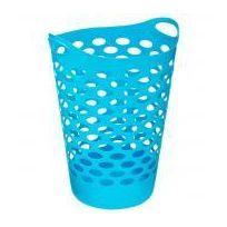 Cleanhouse - Panier à linge Turquoise 60 L