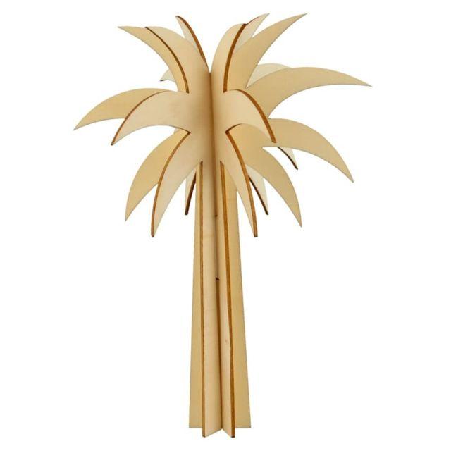 Artemio - Formes en bois Palmier 3D - Artémio