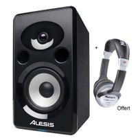 Alesis - Pack Monitor Elevate 6A - Enceinte Active 2 voies 75W unité, + Casque Offert