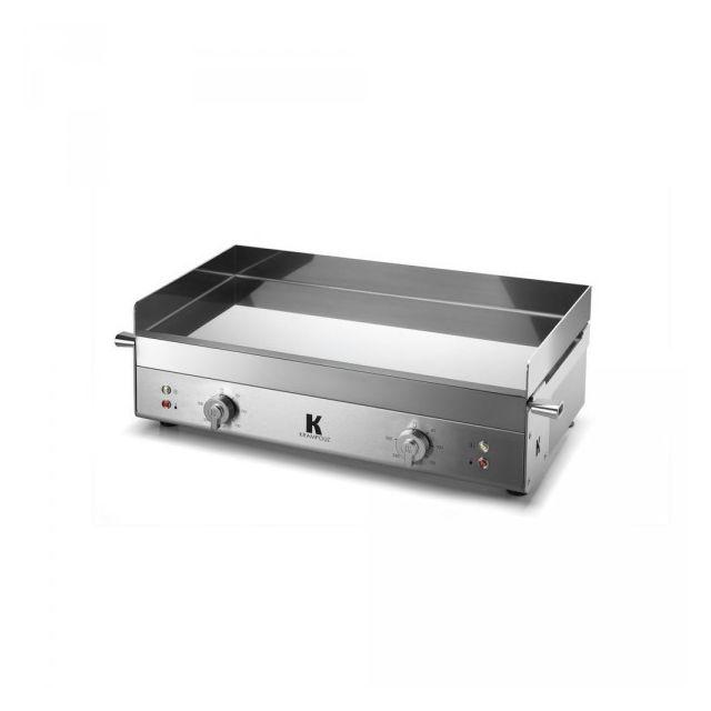 KRAMPOUZ Plancha Electrique K Inox 65.5 x 39.5 cm GECIH2AO