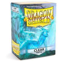 Dragon Shield - Dés et Accessoires - Deck Box 100 Deck Protectors Matte Clear