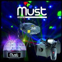Must - Pack Light Iii Laser Fog400 Led Magic Ball
