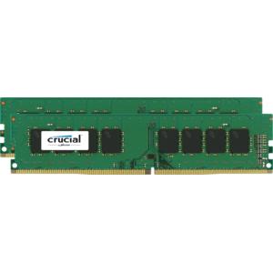 CRUCIAL - 16 Go 2 x 8 Go 2400 Mhz - CL17
