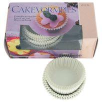 Patisse - Caissettes pâtisserie - Petit modèle - Diam. 2,5 cm - Blanc - Par 150