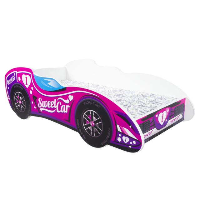Other Lit pour un enfant - F1 - Sweet Car MATELAS Gratuit 140 x 70 cm