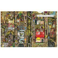 Schmidt - Puzzle 1000 pièces : Paysage urbain fantastique
