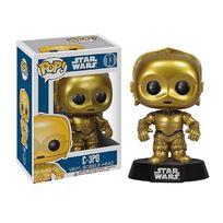 Funko - Star Wars Pop! Vinyl Bobble Head C-3PO 10 cm