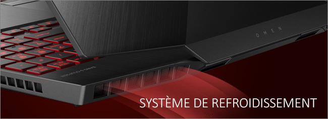 OMEN by HP 15 - Système de refroidissement
