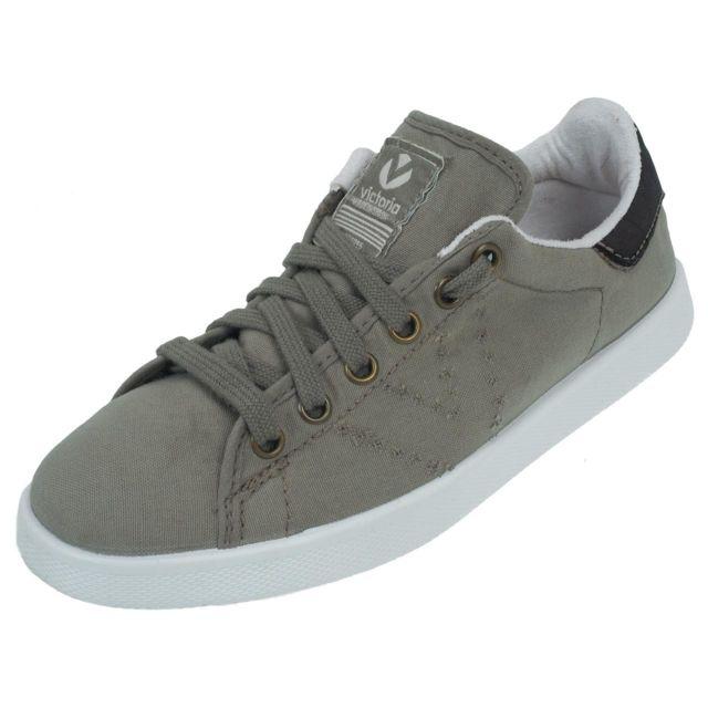 ed0817226958a Victoria - Chaussures basses toile Lona tinta stone Beige 77396 35 - pas  cher Achat   Vente Baskets femme - RueDuCommerce
