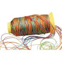 - fil nylon multicolore - bobine de 230m