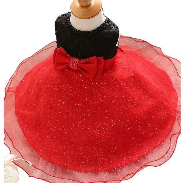 Robe princesse mariage rouge