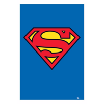 Pyramid - Superman Poster Classic Logo 61 x 91 cm